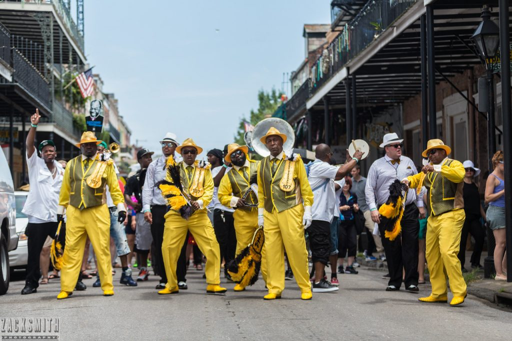 French Quarter Secondline Satchmo Summerfest