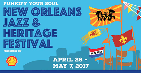 New Orleans Jazz and Heritage Festival Lineup