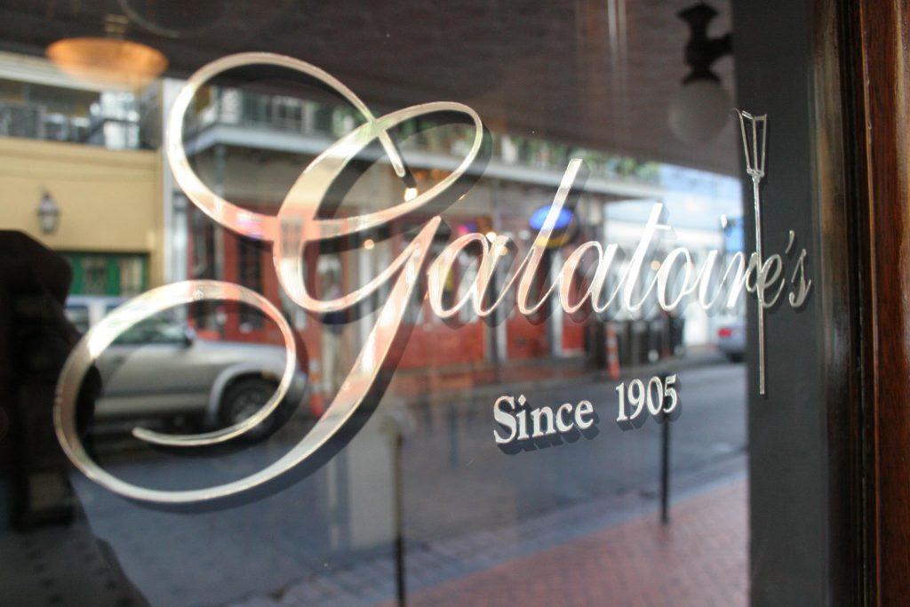 Galatoire's Restaurant on Bourbon Street