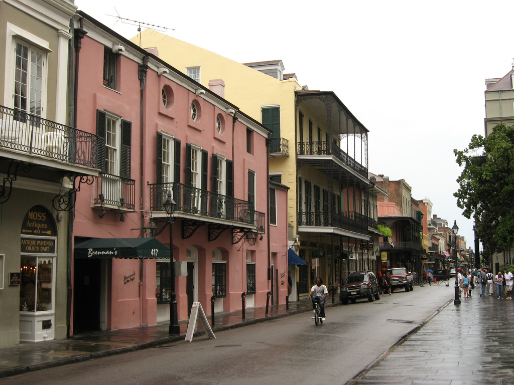 Famous Streets Of The French Quarter