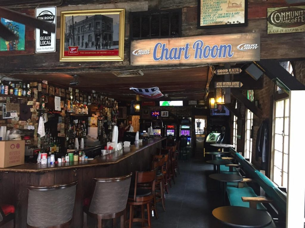 THe Chart Room Guide to the French Quarter