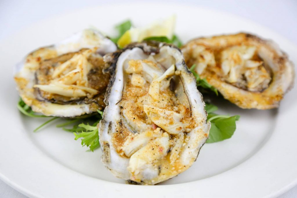 Bourbon House Oysters
