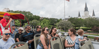 Fun New Orleans Sightseeing with the Hop-On Hop-Off Bus Tour