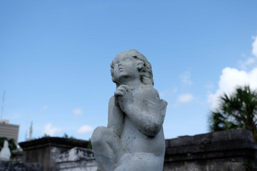 St. Louis Cemetery No. 1_Statue