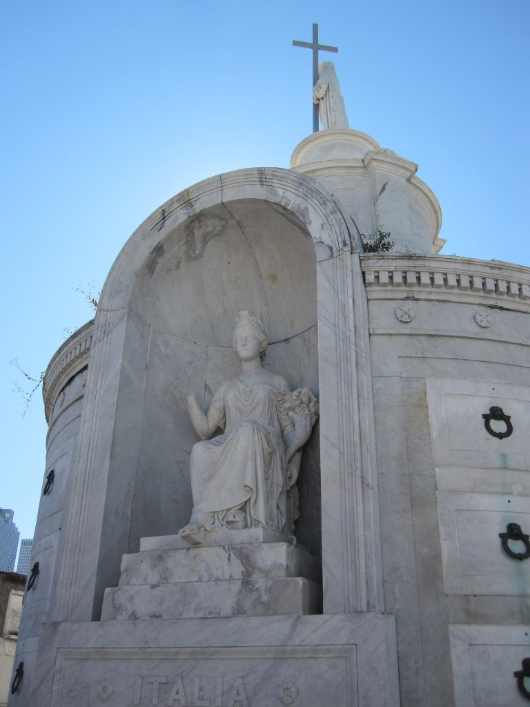 Over-the-top Gravesites in New Orleans