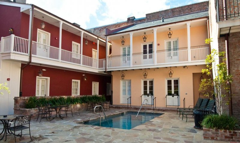 French Quarter Hotels with Pools