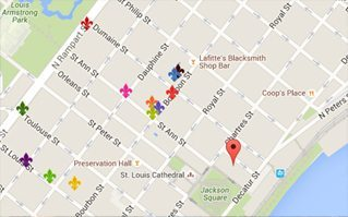 French Market New Orleans Map.French Quarter New Orleans Events Hotels Restaurants Shopping