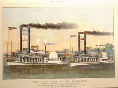 The Many Lives of the Steamboats Natchez