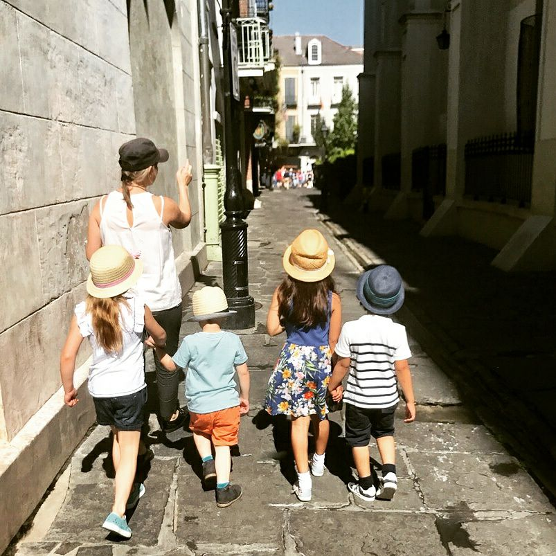 Exploring the French Quarter with Kids
