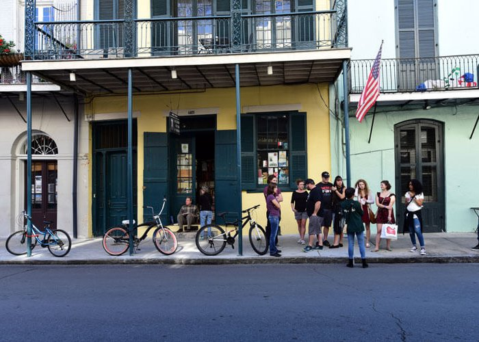 Co-Working in the New Orleans French Quarter